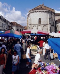 Marché de Sainte Livrade sur Lot