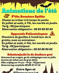 Grotte de Lastournelle - P'tite Aventure Spéléologique