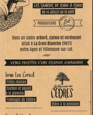 Marchés gourmands de Bernou