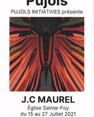 Exposition d'œuvres de Jean-Claude MAUREL