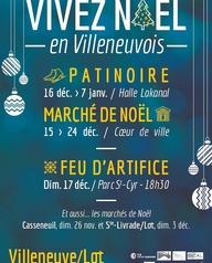 Vivez Noël en Villeneuvois : Le marché de Noël