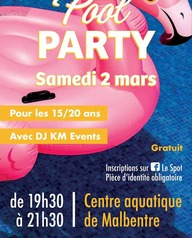 Soirée pool party
