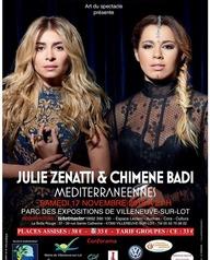 Concert Julie Zenatti et Chimène Badi