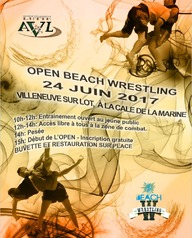 5ème open de Beach Wrestling