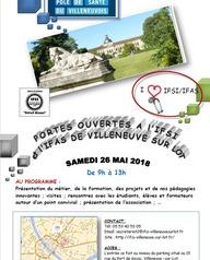 Journée portes ouvertes à l'IFSI/IFAS de Villeneuve sur Lot