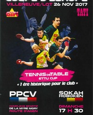 Coupe d'Europe Tennis de Table Pro A PPCV vs Sokah Hoboken