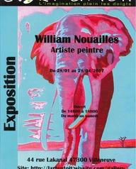 Exposition William Nouailles