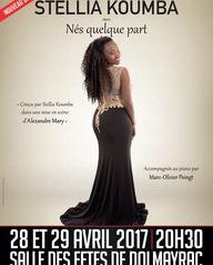 Stellia Koumba en concert