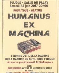 Théâtre Humanus ex Machina