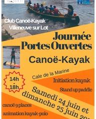Journée portes-ouvertes Canoë-Kayak