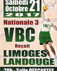 Villeneuve Basket Club reçoit Limoges Landouge