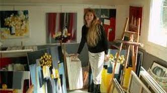 Atelier - Galerie d'artiste Corinne Vilcaz - Villeneuve-sur-Lot