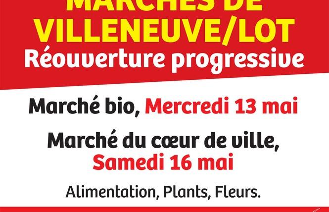 Marché de Villeneuve sur lot 1 - Villeneuve-sur-Lot