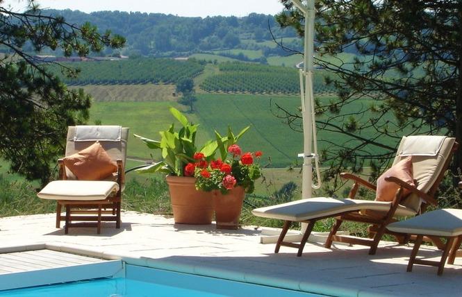 La Maison de Maître - Gite Vionnet 9 - Sainte-Livrade-sur-Lot